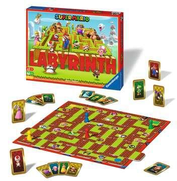 Super Mario™ Labyrinth Jeux;Jeux de société pour la famille - Image 3 - Ravensburger