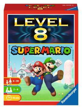 Super Mario Level 8 Jeux;Jeux de cartes - Image 1 - Ravensburger