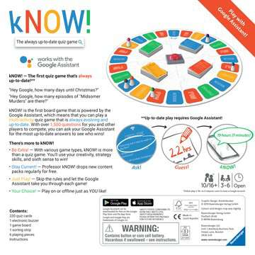 kNOW! Game Games;Family Games - image 3 - Ravensburger