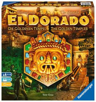 The Quest for El Dorado The Golden Temples Games;Family Games - image 1 - Ravensburger