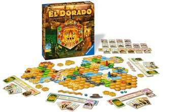 The Quest for El Dorado The Golden Temples Games;Family Games - image 2 - Ravensburger