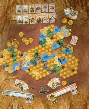 The Quest for El Dorado The Golden Temples Games;Family Games - image 3 - Ravensburger