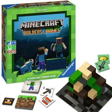 Minecraft Builders & Biomes Game Games;Strategy Games - image 4 - Ravensburger