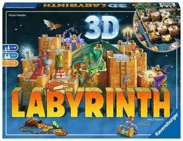 Labyrinth 3D Gry;Gry rodzinne - Zdjęcie 1 - Ravensburger