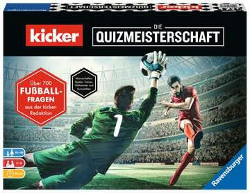 kicker - Die Quizmeisterschaft Spiele;Familienspiele - Bild 1 - Ravensburger