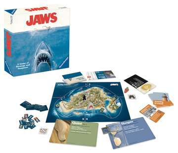 JAWS - A Game of Strategy and Suspense Games;Strategy Games - image 2 - Ravensburger