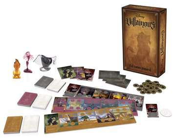 Disney Villainous - Evil Comes Prepared Games;Strategy Games - image 2 - Ravensburger