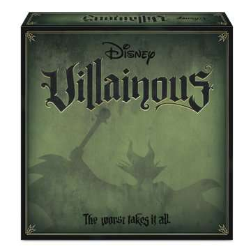 Disney Villainous Game - Which Villain Are You? Spil;Familiespil - Billede 1 - Ravensburger