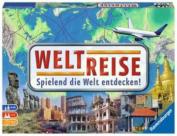 Weltreise Spiele;Familienspiele - Bild 1 - Ravensburger
