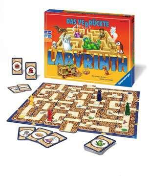 26446 Familienspiele Das verrückte Labyrinth von Ravensburger 2