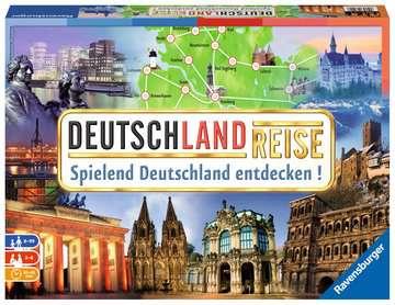 Deutschlandreise Spiele;Familienspiele - Bild 1 - Ravensburger