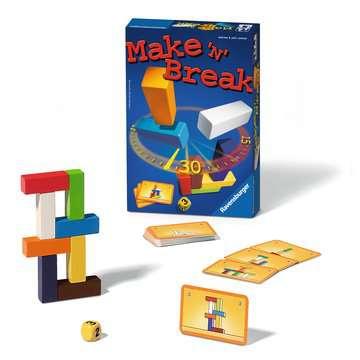 Make and Break kompaktní Hry;Společenské hry - obrázek 1 - Ravensburger