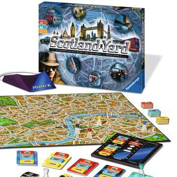 Scotland Yard Games;Family Games - image 4 - Ravensburger