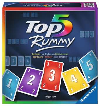TOP 5 Rummy Games;Family Games - image 1 - Ravensburger