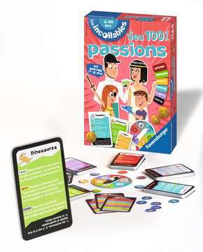 Le jeu des Incollables Spécial Passions Jeux;Jeux pour enfants - Image 3 - Ravensburger