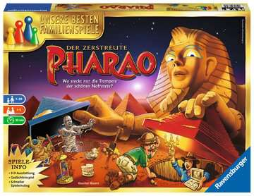 Der zerstreute Pharao Spiele;Familienspiele - Bild 1 - Ravensburger