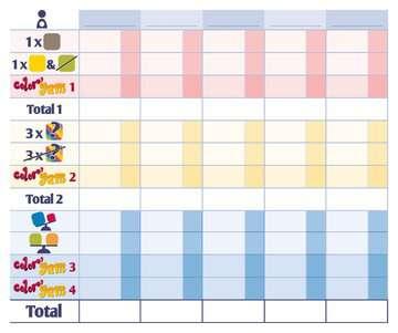 Color Yam Jeux de société;Jeux adultes - Image 5 - Ravensburger
