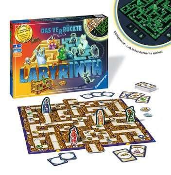 26687 Familienspiele Das verrückte Labyrinth Glow in the Dark von Ravensburger 3