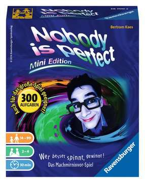 26700 Kartenspiele Nobody is perfect - Mini Edition von Ravensburger 1