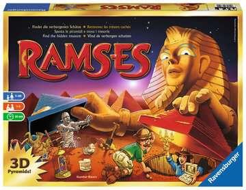 Ramsès le pharaon étourdi Jeux;Jeux de société pour la famille - Image 1 - Ravensburger