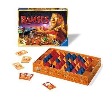 Ramsès le pharaon étourdi Jeux;Jeux de société pour la famille - Image 2 - Ravensburger