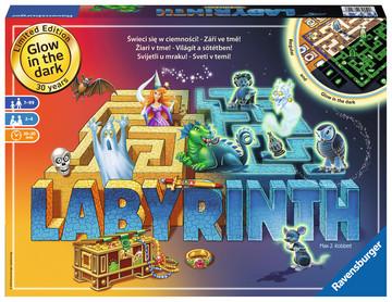 Labyrinth Noční Edice  PL/CS/SK/HU/SL Hry;Společenské hry - image 1 - Ravensburger