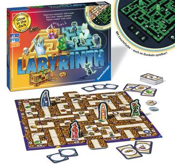 Labyrinth Noční Edice  PL/CS/SK/HU/SL Hry;Společenské hry - image 2 - Ravensburger