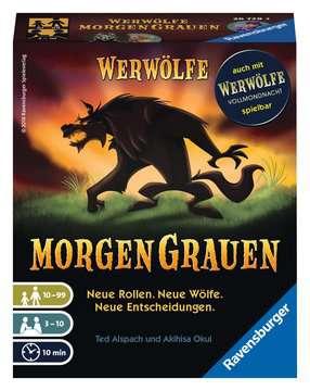 Werwölfe - MorgenGrauen Spiele;Erwachsenenspiele - Bild 1 - Ravensburger