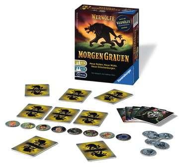 Werwölfe - MorgenGrauen Spiele;Erwachsenenspiele - Bild 2 - Ravensburger