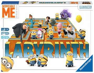 Despicable Me Labyrinth Games;Family Games - image 1 - Ravensburger