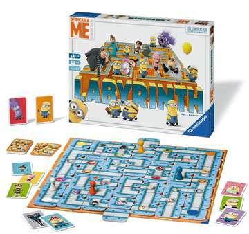 Despicable Me Labyrinth Games;Family Games - image 2 - Ravensburger
