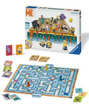 Despicable Me Labyrinth Games;Family Games - image 3 - Ravensburger