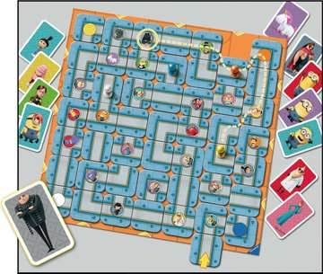 Despicable Me Labyrinth Games;Family Games - image 4 - Ravensburger