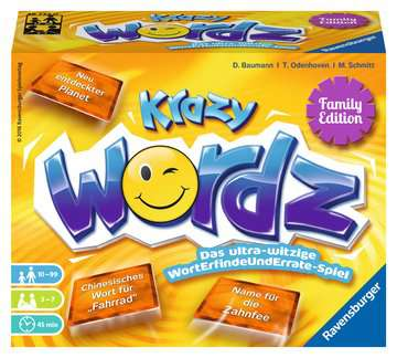 Krazy WöRDZ Family Spiele;Familienspiele - Bild 1 - Ravensburger
