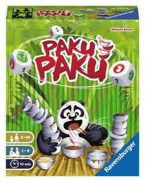 Paku Paku Jeux;Jeux de cartes - Image 1 - Ravensburger