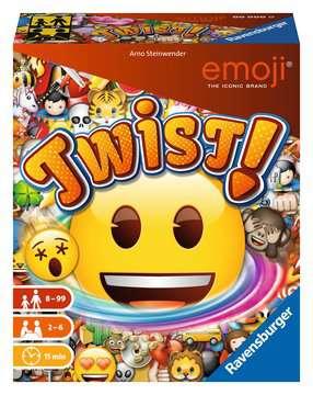 emoji Twist Jeux de société;Jeux famille - Image 1 - Ravensburger