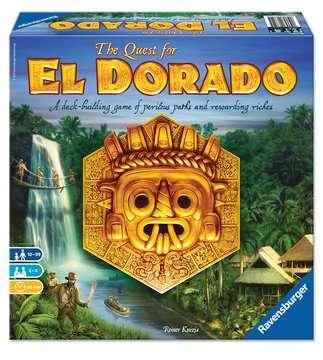 The Quest for EL DORADO Games;Family Games - image 1 - Ravensburger