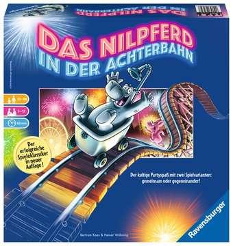 Das Nilpferd in der Achterbahn Spiele;Familienspiele - Bild 1 - Ravensburger