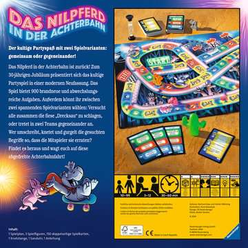 Das Nilpferd in der Achterbahn Spiele;Familienspiele - Bild 2 - Ravensburger
