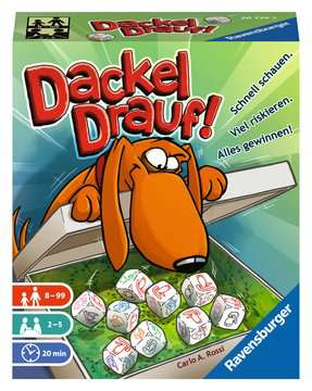 Dackel drauf! Spiele;Familienspiele - Bild 1 - Ravensburger
