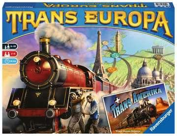 Trans Europa Spellen;Spellen voor het gezin - image 1 - Ravensburger