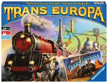 26785 Familienspiele Trans Europa (& Trans Amerika) von Ravensburger 1