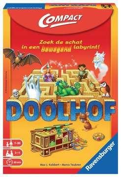 Doolhof Compact Spellen;Spellen voor het gezin - image 1 - Ravensburger