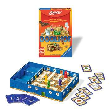 Doolhof Compact Spellen;Spellen voor het gezin - image 2 - Ravensburger