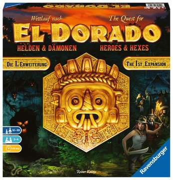 26790 Familienspiele Wettlauf nach El Dorado - Helden und Dämonen von Ravensburger 1