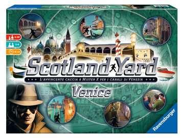 Scotland Yard Venice Giochi;Giochi di società - immagine 1 - Ravensburger