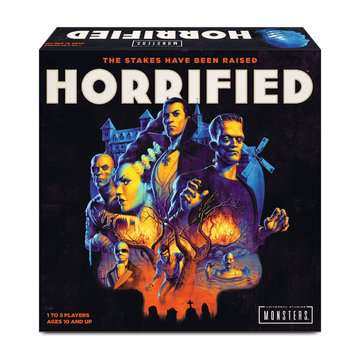 Horrified: Universal Monsters Games;Strategy Games - image 1 - Ravensburger