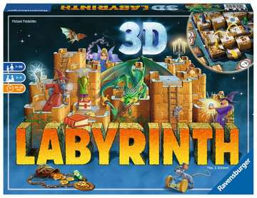 3D Labyrinth Games;Family Games - image 1 - Ravensburger