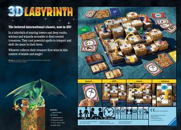 3D Labyrinth Games;Family Games - image 4 - Ravensburger