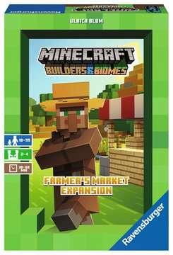 Minecraft Builders & Biomes Farmers Market uitbreiding Spellen;Volwassenspellen - image 1 - Ravensburger